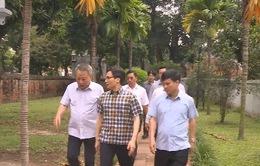 Kiểm tra một số nhà vệ sinh công cộng tại Hà Nội