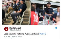 Mourinho bất ngờ tới Áo dự khán: Nguyên nhân vì sao?