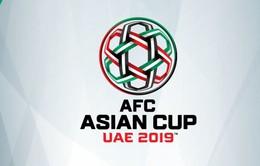 Hôm nay (4/5) bốc thăm chia bảng VCK Asian Cup 2019