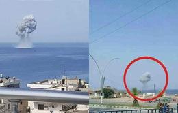 Máy bay Su-30SM của Nga rơi trên Địa Trung Hải, 2 phi công thiệt mạng