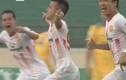 SLNA 0-1 CLB Nam Định: Chiến thắng đầu tiên tại Nuti Café V.League 2018 của thầy trò HLV Văn Sỹ