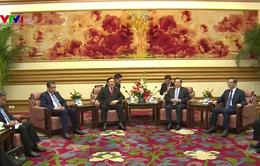 Việt Nam mong muốn tăng cường quan hệ đối tác chiến lược với Trung Quốc