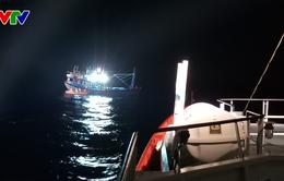 Cứu sống thuyền viên tàu QNg 98217 TS bị bệnh nguy kịch ở vùng biển Hoàng Sa