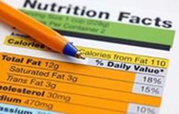 Các chỉ số dinh dưỡng trên nhãn thực phẩm nói lên điều gì?
