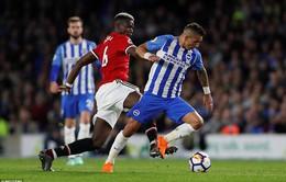 VIDEO: Tổng hợp diễn biến Brighton 1-0 Man Utd (Vòng 37 Ngoại hạng Anh)