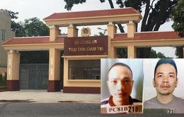 Truy tố 3 cán bộ Trại tạm giam T16 để 2 tử tù trốn trại