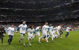 Madrid vẫn là kinh đô bóng đá của châu Âu