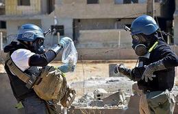 Tổ chức Cấm vũ khí hóa học kết thúc chuyến thanh sát tại Syria
