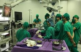 Quảng Ninh: Ứng dụng phẫu thuật nội soi 3D trong điều trị u xơ tử cung