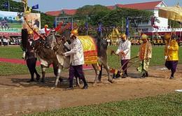 Lễ Hạ điền trước mùa vụ sản xuất tại Campuchia