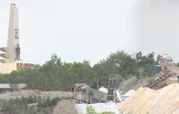 Quảng Nam: Khai thác đá uy hiếp Tượng đài Chiến thắng Núi Thành