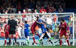 VIDEO: Giroud đánh đầu tung lưới Liverpool, mở tỷ số cho Chelsea