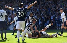 VIDEO tổng hợp diễn biến West Brom 1-0 Tottenham