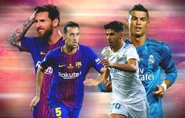 Barcelona – Real Madrid (1h45 ngày 7/5): Đợi chờ Siêu kinh điển!