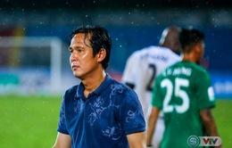HLV Minh Phương thất vọng sau khi để thua ở phút cuối cùng