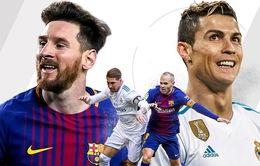 """Lịch thi đấu bóng đá quốc tế đêm 6/5, sáng 7/5: Háo hức chờ """"Siêu kinh điển"""" Barcelona - Real Madrid và Chelsea - Liverpool"""
