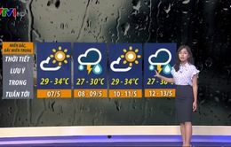 Dự báo thời tiết tuần này: Miền Bắc nắng nóng những ngày nào?