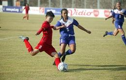 Đánh bại Philippines, U16 nữ Việt Nam rộng cửa vào bán kết giải U16 ĐNA 2018