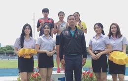 VĐV Khuất Phương Anh giành HCV giải điền kinh Thái Lan mở rộng
