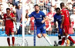 """Giúp Chelsea đánh bại Liverpool, Giroud lập kỷ lục mang thương hiệu """"Đầu vàng"""""""