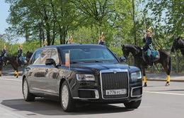 VIDEO Siêu xe của Nga lần đầu tiên được Tổng thống Putin sử dụng cho lễ nhậm chức