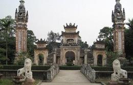 Dấu tích xưa tại Đền Bà Triệu