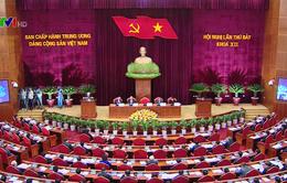 Ngày làm việc đầu tiên của Hội nghị Trung ương 7 khóa XII