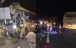 Hà Tĩnh: Va chạm giữa xe khách và xe container, 14 người thương vong
