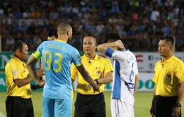 Các quyết định kỷ luật đối với những vi phạm tại vòng 7 V.League 2018: Đình chỉ thi đấu 2 trận với Quốc Chí, cảnh cáo Zarour Chaher