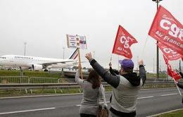 Giá cổ phiếu Air France lao dốc