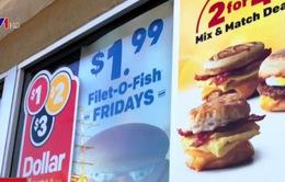 Ngành kinh doanh thức ăn nhanh đang gặp khủng hoảng
