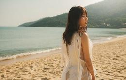 Diễm My 9X khoe vẻ đẹp mong manh tại biển