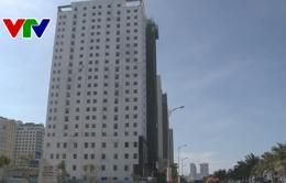Đà Nẵng kiểm tra việc tháo dỡ phòng xây vượt phép tại khách sạn EDEN