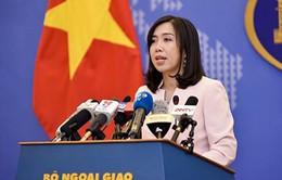 Việt Nam đề nghị phía Trung Quốc thể hiện trách nhiệm duy trì hòa bình, ổn định ở Biển Đông
