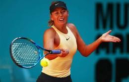 Vòng 2 đơn nữ Madrid mở rộng: Sharapova đi tiếp, Azarenka bị loại