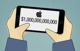 Apple sắp trở thành công ty đầu tiên đạt giá trị thị trường 1.000 tỷ USD