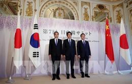 """Nhật-Trung-Hàn """"bắt tay"""" thúc đẩy thương mại tự do"""
