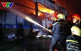 TP.HCM: Cháy dữ dội ở KCN Vĩnh Lộc, huyện Bình Chánh