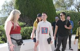 NTK Đỗ Trịnh Hoài Nam gặp gỡ các minh tinh quốc tế tại LHP Cannes