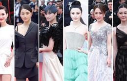 """Dàn sao Hoa ngữ """"tấn công"""" Cannes, Phạm Băng Băng lấn át với phong cách công chúa"""
