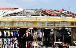 Khánh Hòa: Khắc phục chợ bị ảnh hưởng sau bão 12