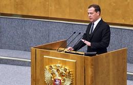Ông Medvedev tiếp tục giữ chức Thủ tướng Nga