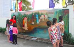 Độc đáo con đường bích hoạ truyện Kiều ở Hà Tĩnh