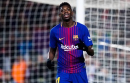 Liverpool muốn hỏi mượn Dembele từ Barcelona