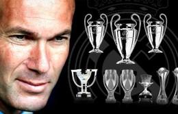 Zinedine Zidane là vị HLV thành công thứ 2 trong lịch sử Real Madrid