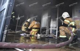 Không có thương vong trong vụ cháy Trung tâm thương mại ở Nga
