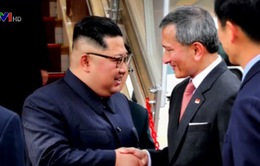 Nhà lãnh đạo Triều Tiên Kim Jong-un đã tới Singapore