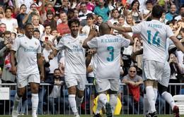 Raul và Guti lập công, huyền thoại Real Madrid đánh bại Arsenal
