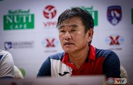 HLV Phan Thanh Hùng tự tin trước trận gặp CLB Hà Nội