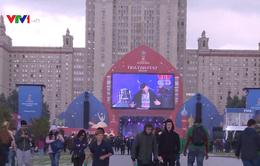 Mở cửa khu vực cho người hâm mộ World Cup tại Moscow